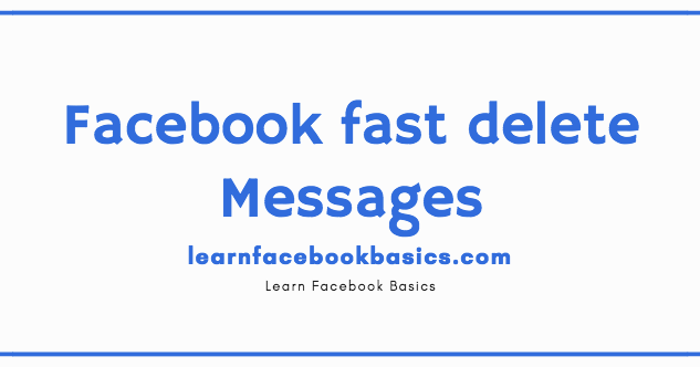 Delete messenger messages at once on facebook facebook fast delete delete messenger messages at once on facebook facebook fast delete messages facebook delete all ccuart Choice Image