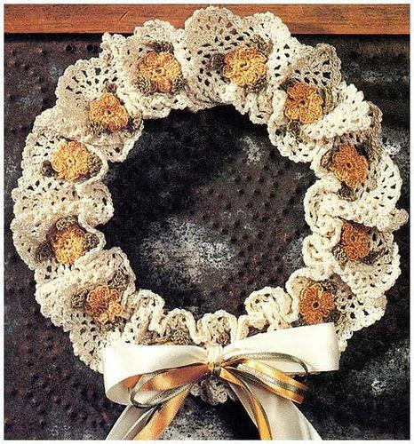 arvore de natal feita com croche - Google Search