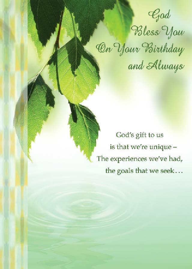 Religious Birthday Cards