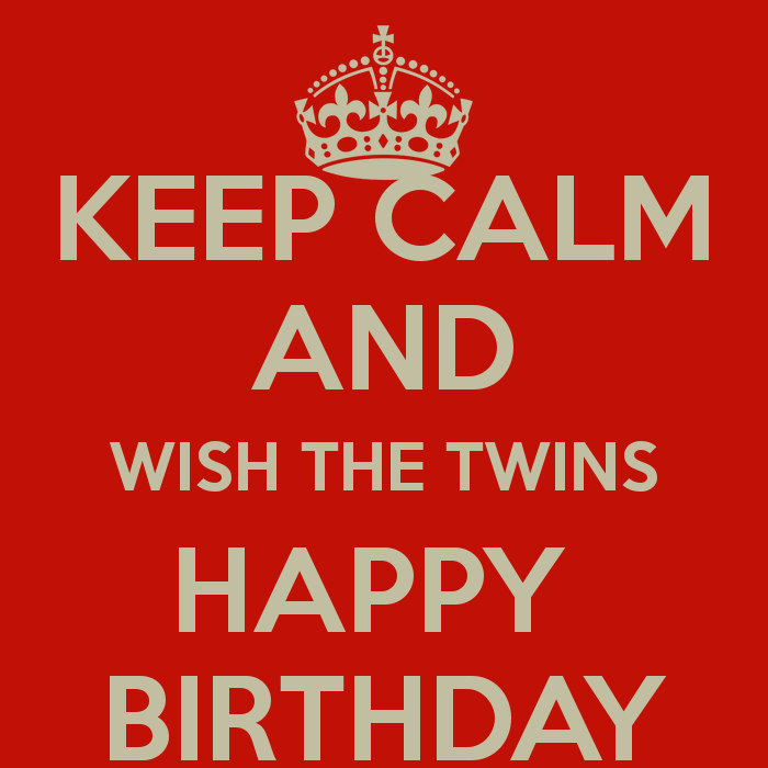 Cute Birthday Wishes For Twins Brother And Sister