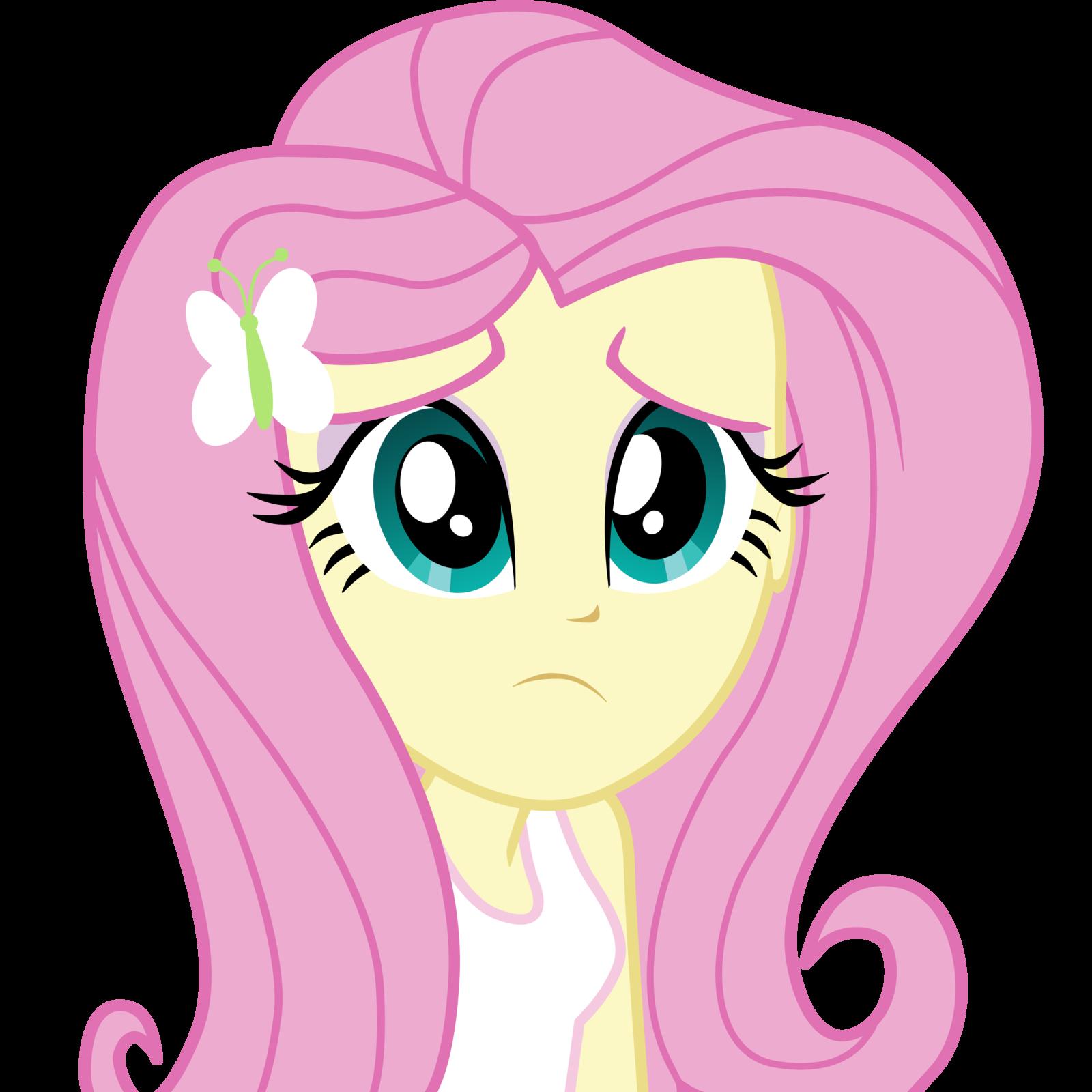 My Little Pony Ausmalbilder Flurry Heart : Equestria Girls Sad Fluttershy Vector By Fluttershy Ek My