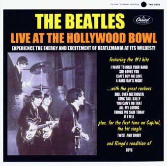 BootlegZone : The Beatles -- Live At The Hollywood Bowl 1964 (US