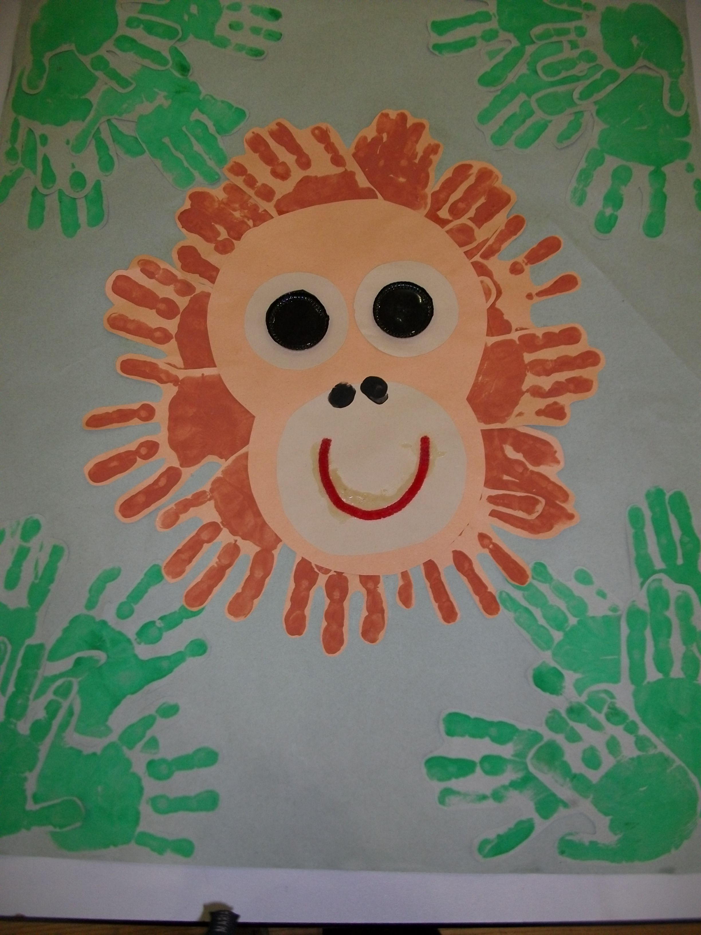 Hands For Orangutans