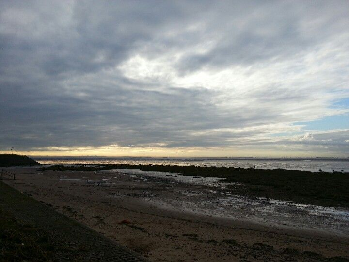 Granny's Bay -  view across to Southport and South Pennines