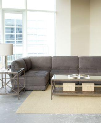 This \u0027n\u0027 That Living Room Furniture Sets  Modular Pieces - Graphite