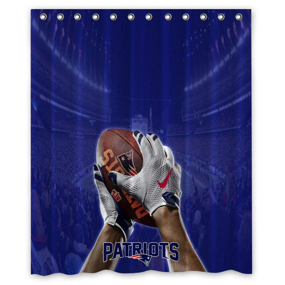 New England Patriots National Football Shower Curtain Size 60x72