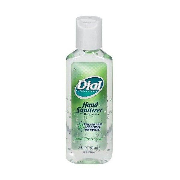 Dial Light Citrus Scent Hand Sanitizer 2 Oz Target Liked On
