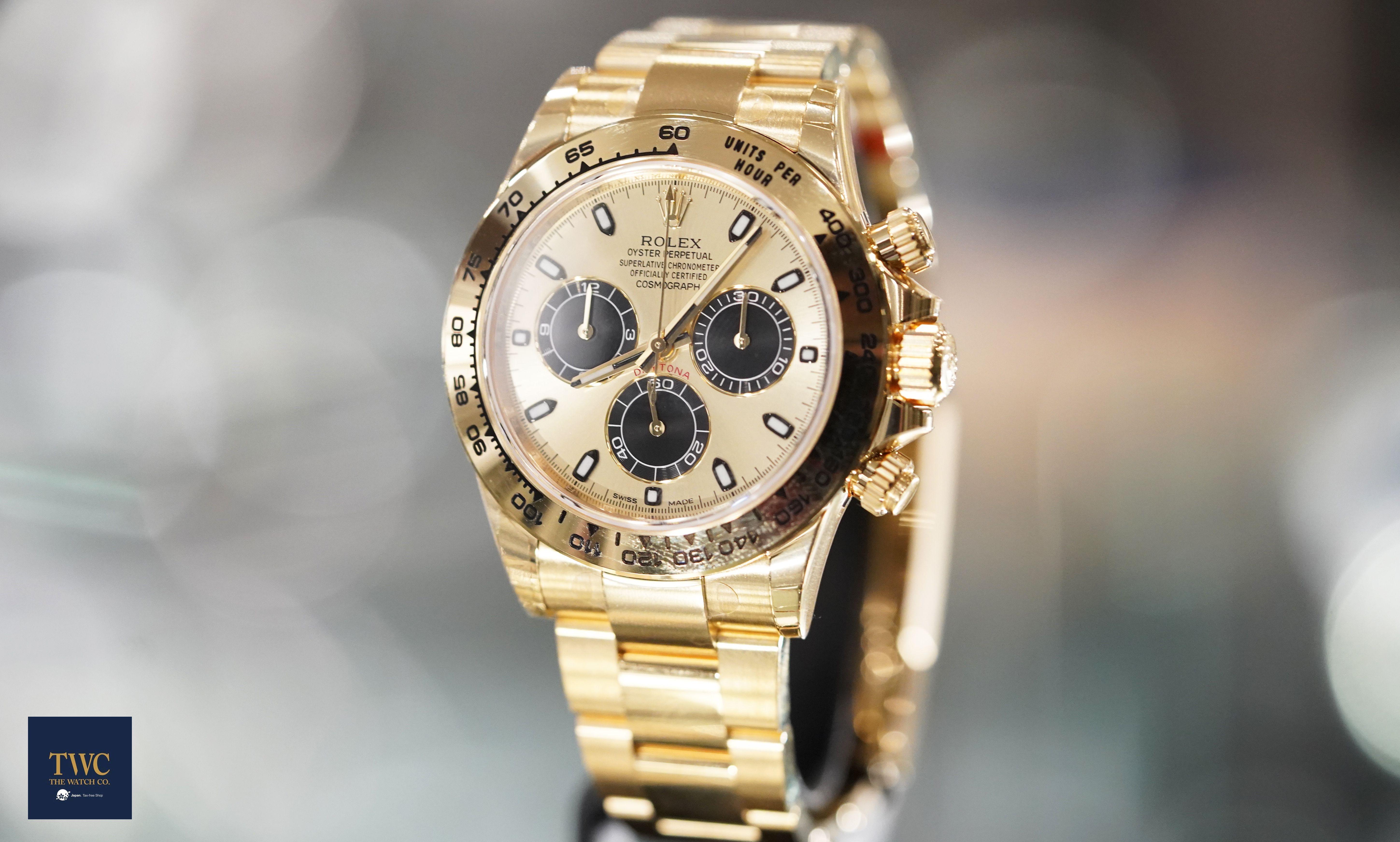 finest selection 3b515 b4c65 Rolex - Cosmograph Daytona Daytona Champagne 18k yellow gold ...