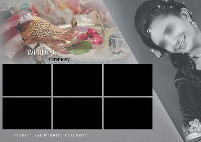 Indian Wedding Album Cover Design 17x24 Psd Templates Ty