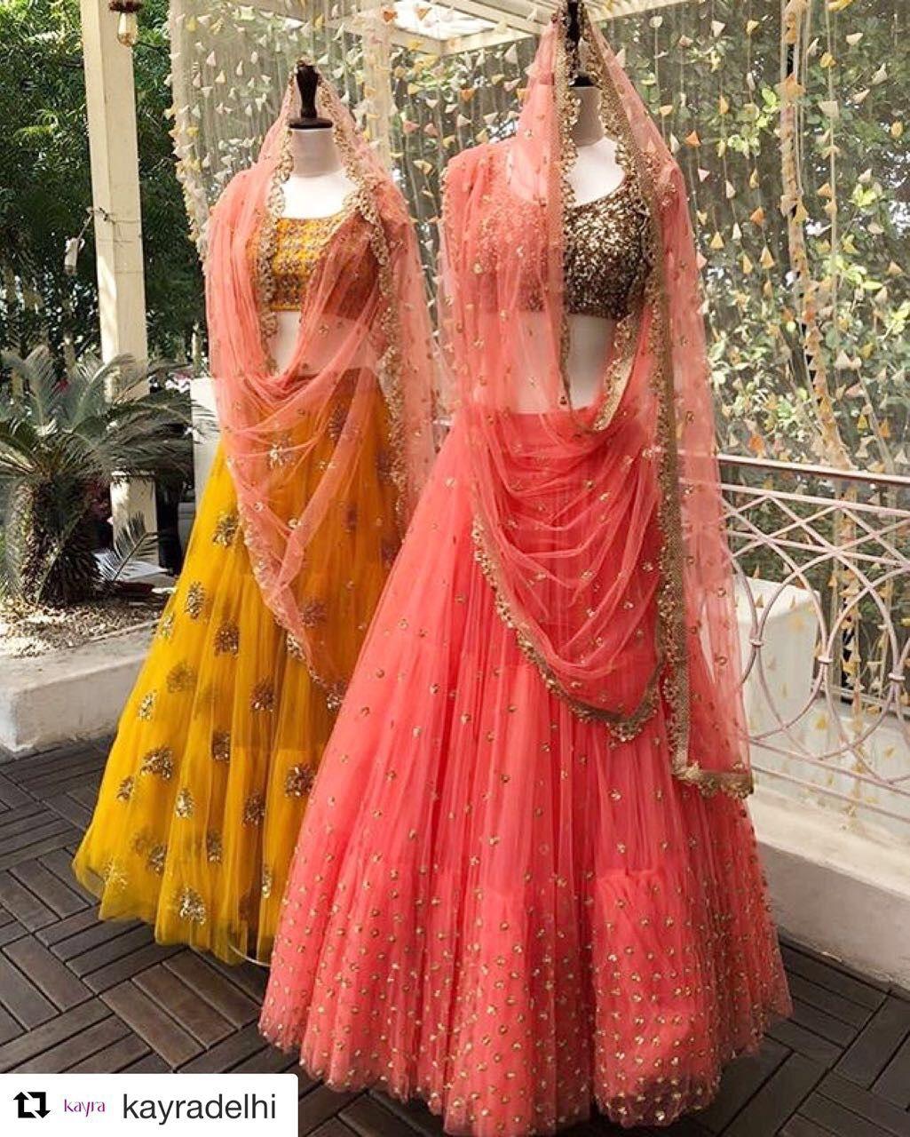 dbb7576ab1 Meenakshi By Mrunalini Rao Contact: +91 7032083620 Indian Lehenga, Lehenga  Choli, Sari