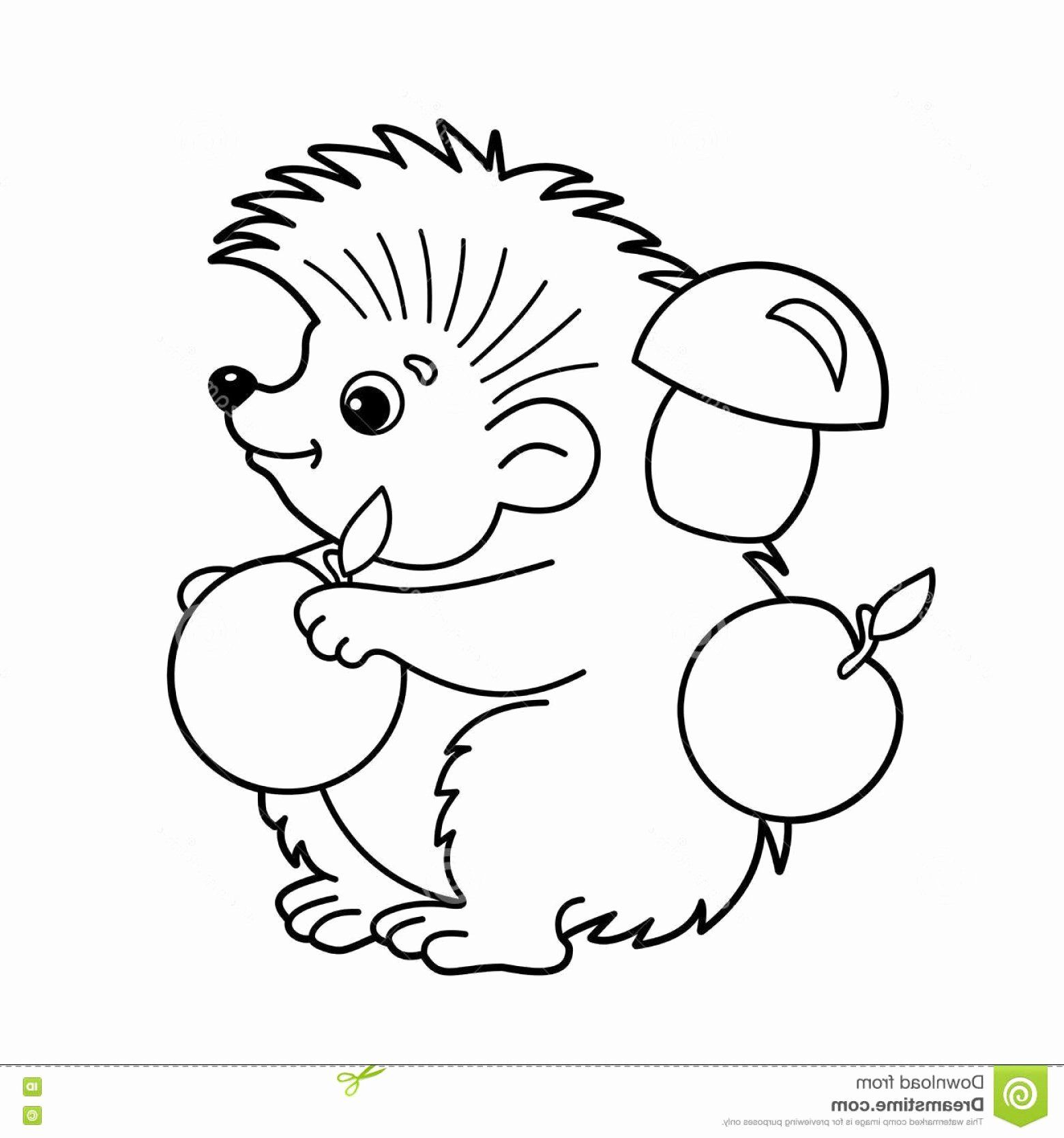 Cartoon Characters Coloring Sheets Lovely Stock Illustration