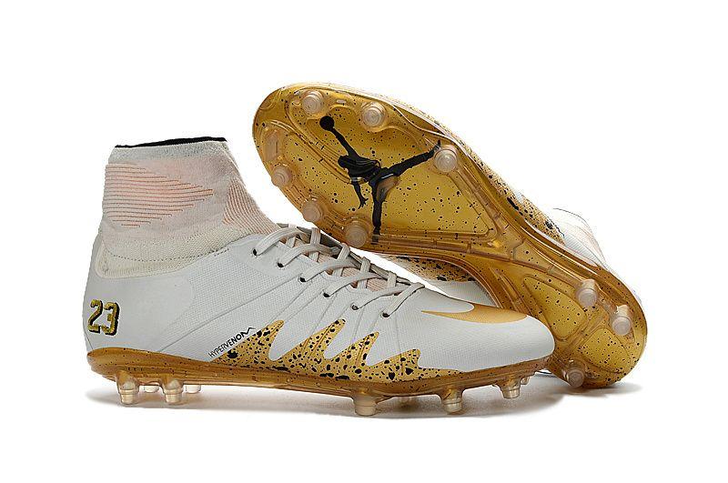 reputable site 9d87e 60e7c 2017 Nike Hypervenom Phantom II FG mix white NJR jordan soccer cleats
