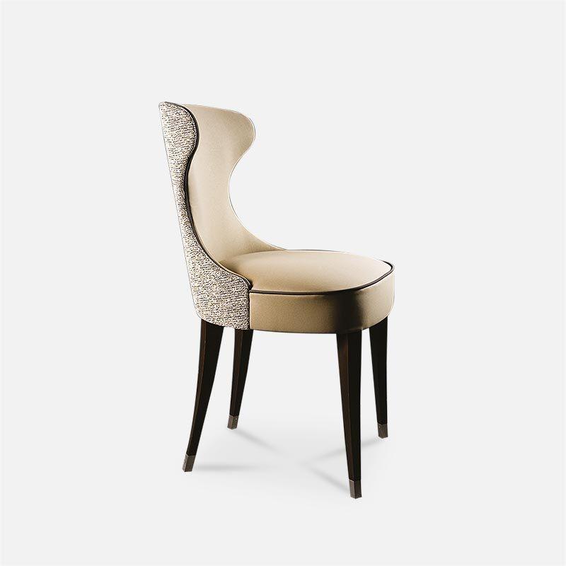 Chaise Design Gondole Beige Pour Collinet Chaisedesign Design Mobilierdesign Designchair In 2020 Dining Chairs Soft Sofa Furniture