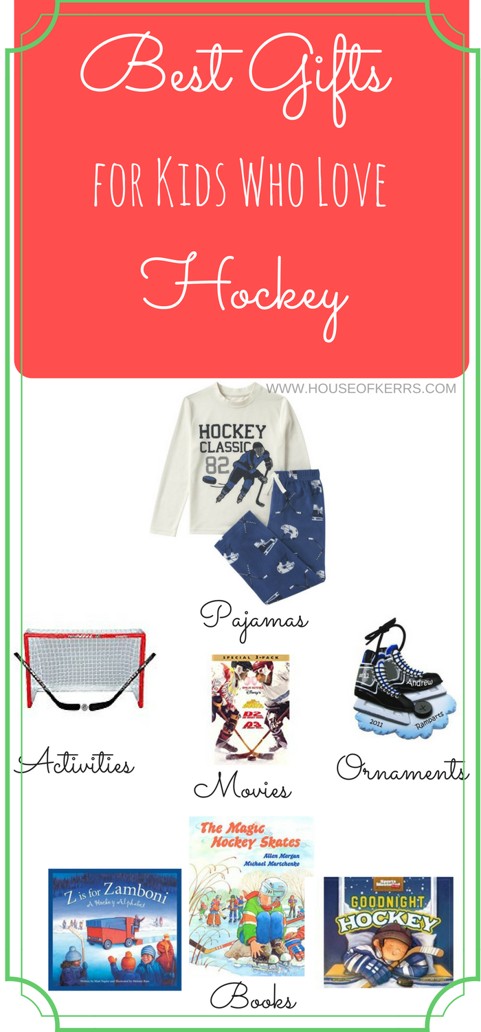 Personalized ornaments for kids - Best Gifts For Kids Who Love Hockey Holiday Gift Guide