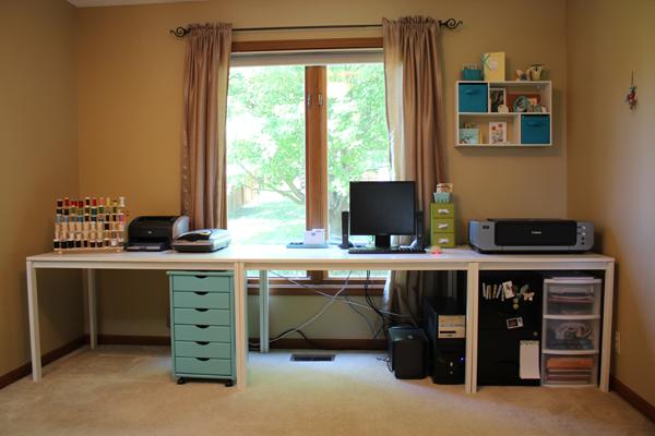 Melltorp Desk Amp Alex Desk Sewing Rooms Home Office