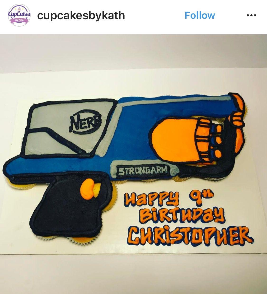 Pin On Pull Apart Cupcake Cakes