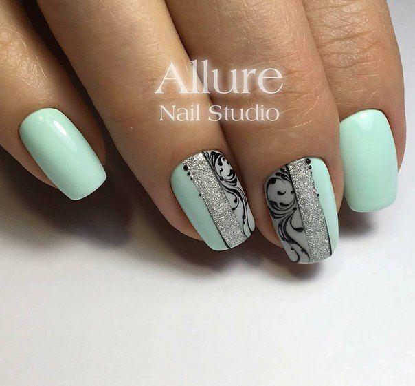 Pin de Bri en Nails | Pinterest | Diseños de uñas, Diseños para uñas ...