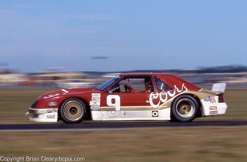 Bill Elliott Mustang Ford motorsport, Ford mustang cobra