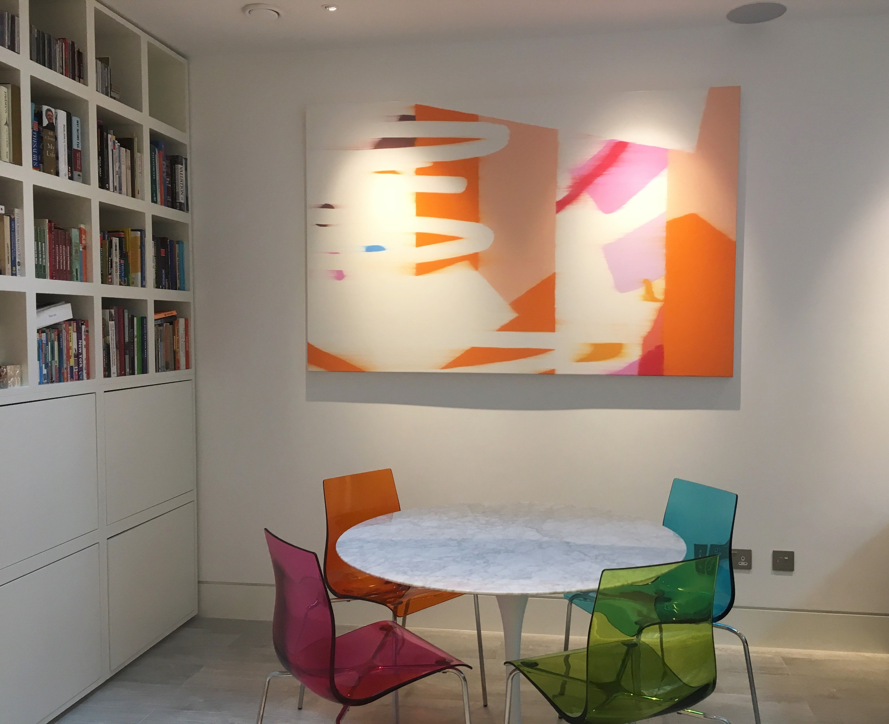 gallery work home. Work Of Bernd Mechler From Lisa Norris Gallery In A London Home - Art Interiors