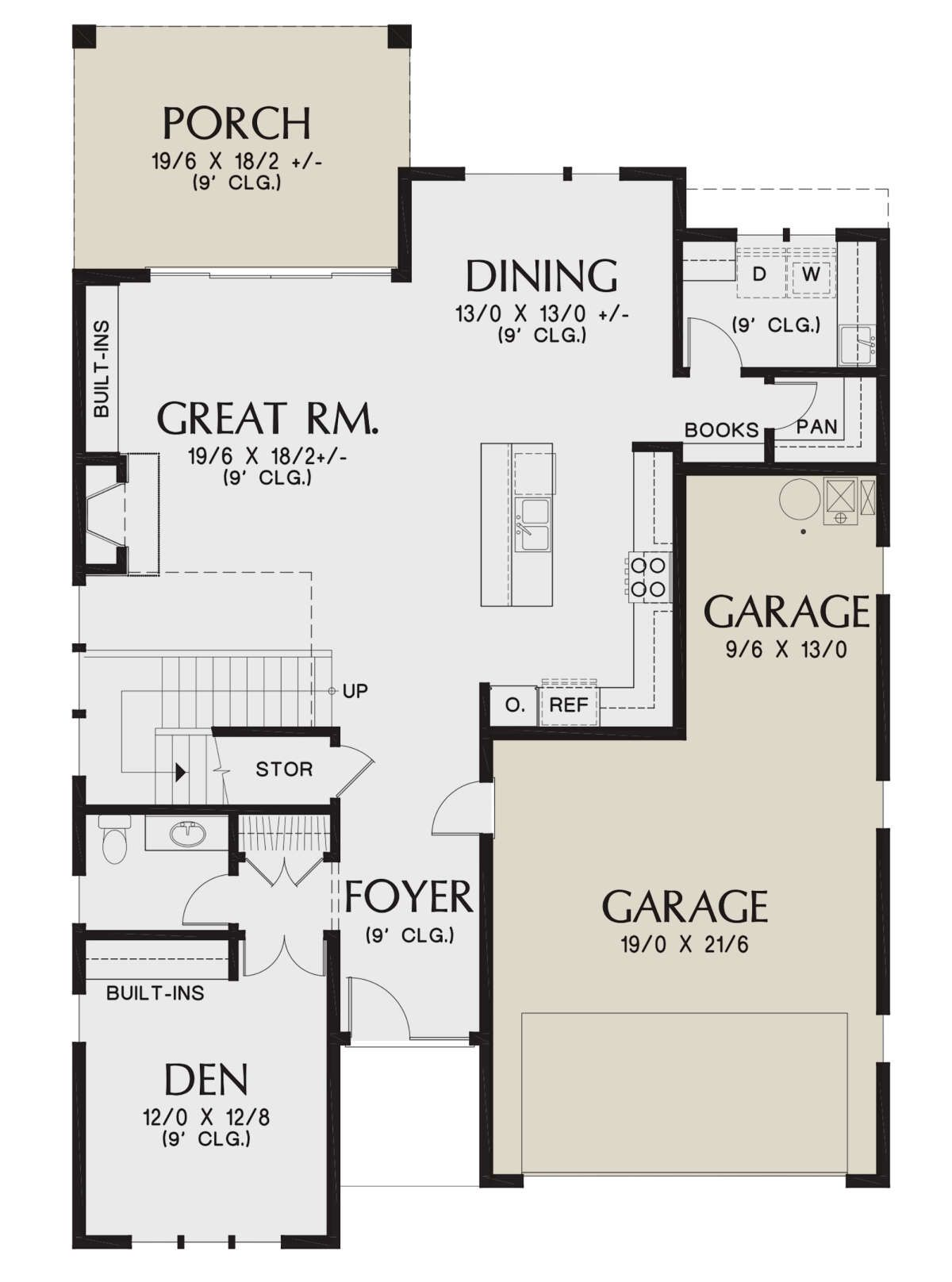 House Plan 2559 00889 Contemporary Plan 2 884 Square Feet 4 Bedrooms 2 5 Bathrooms In 2021 Contemporary House Plans House Plans Contemporary Style Homes