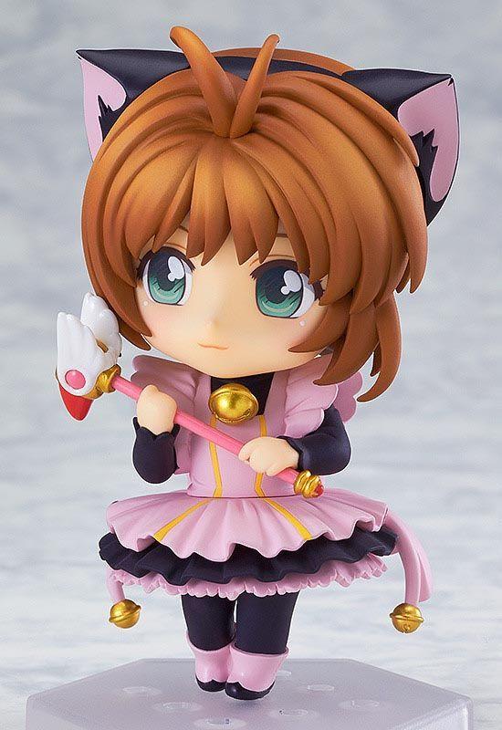 Figurine Nendoroid Co De Kinomoto Sakura Kuroneko Maid Card Captor Sakura Goodsmile Company Poupees Anime Chiffres D Anime Sakura Chasseuse De Cartes
