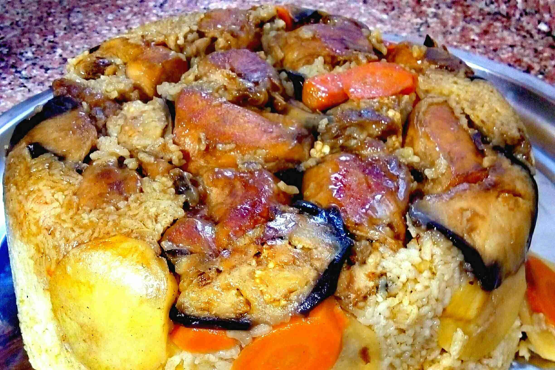 المقلوبه بالدجاج زاكي Cooking Recipes Main Dishes