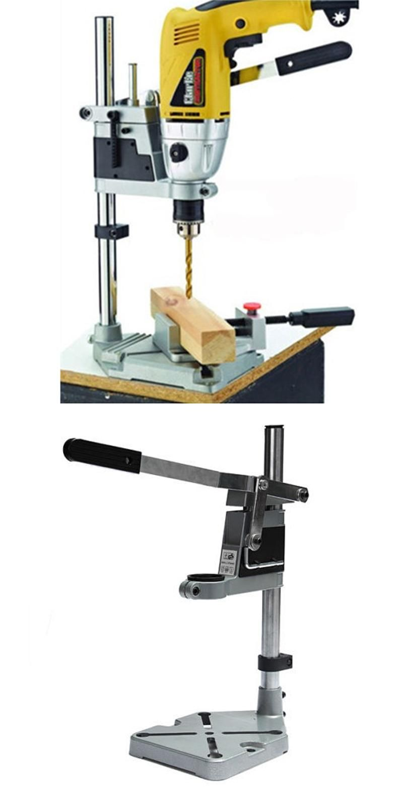 Visit To Buy Power Tools Accessories Bench Drill Press Stand Clamp Base Frame For Electric Drills Diy Too Drill Holder Power Tool Accessories Electric Drills