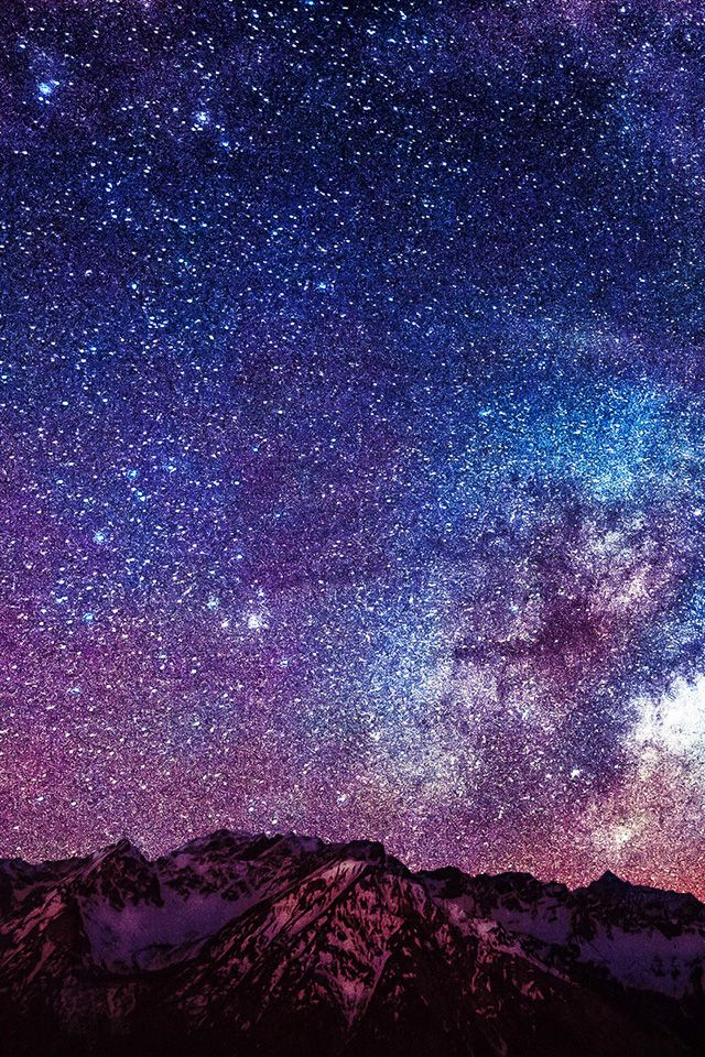 Stars And Mountains Iphone Wallpaper Hd Iphone Wallpaper Stars Star Wallpaper Art Wallpaper Iphone