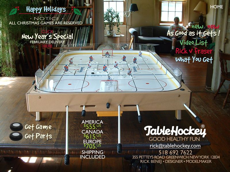 best table hockey game ever