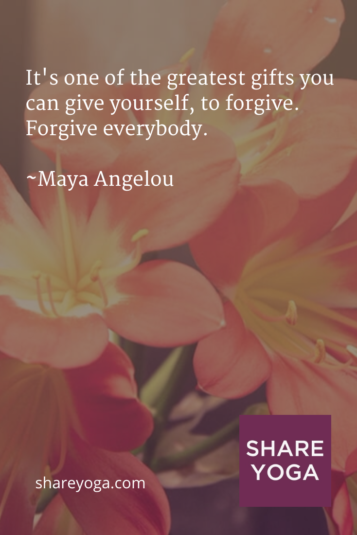 Its one of the greatest gifts you can give yourself to forgive its one of the greatest gifts you can give yourself to forgive maya angelou kristyandbryce Images