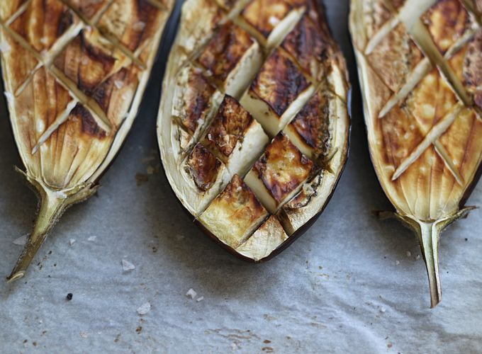Aubergine is a far more romantic way to say eggplant. AND I want to eat this. And I want to go to Turkey. Please?