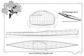 Plans To Make Your Own Strip Built Recreational Sea Kayak Boat Building Plans Boat Plans Boat Building