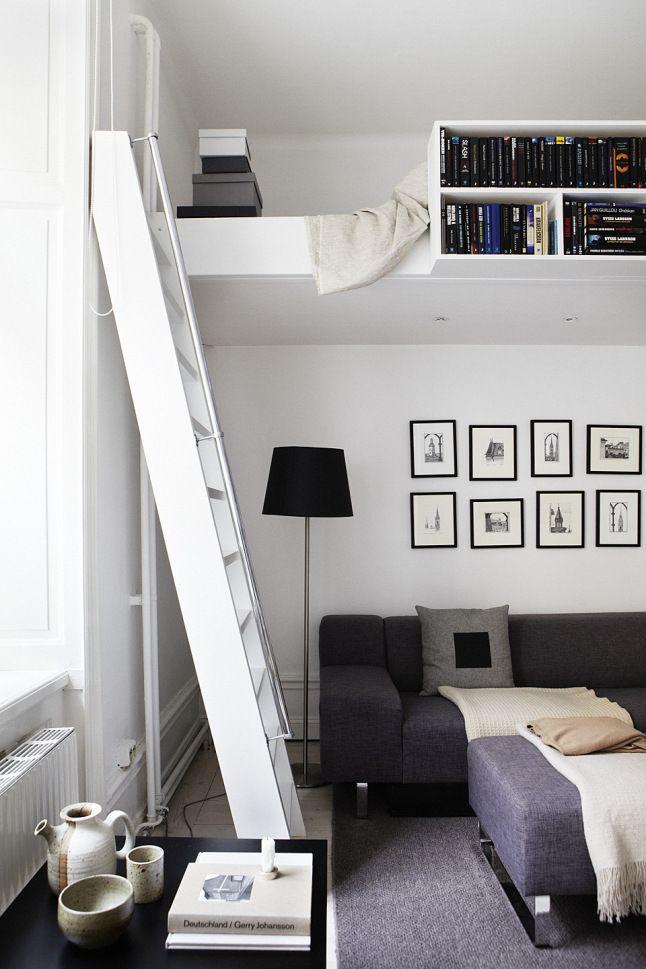 Photo Tour: Simple + Warm Stockholm Loft | Logement étudiant ...