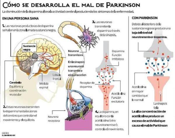 Diabetes und parkinson