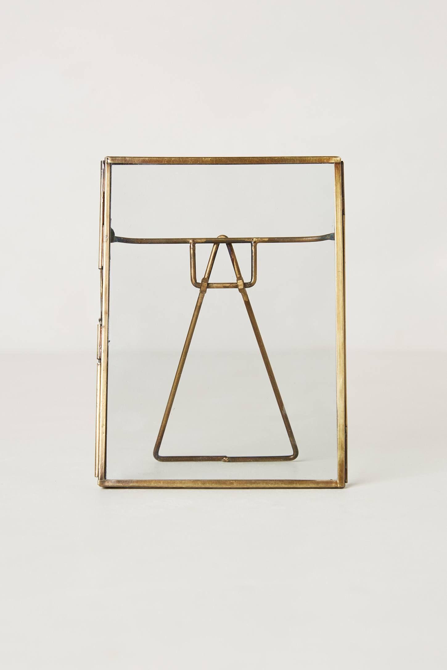 Pressed Glass Photo Frame - anthropologie.com   Wishlist   Pinterest ...