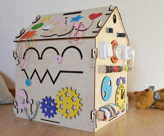Busy board activity board sensory board busy house ...