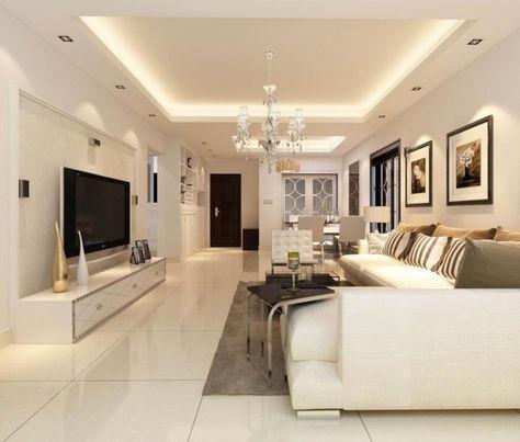elegantes wohnzimmer in wei gestalten und angeh ngte. Black Bedroom Furniture Sets. Home Design Ideas