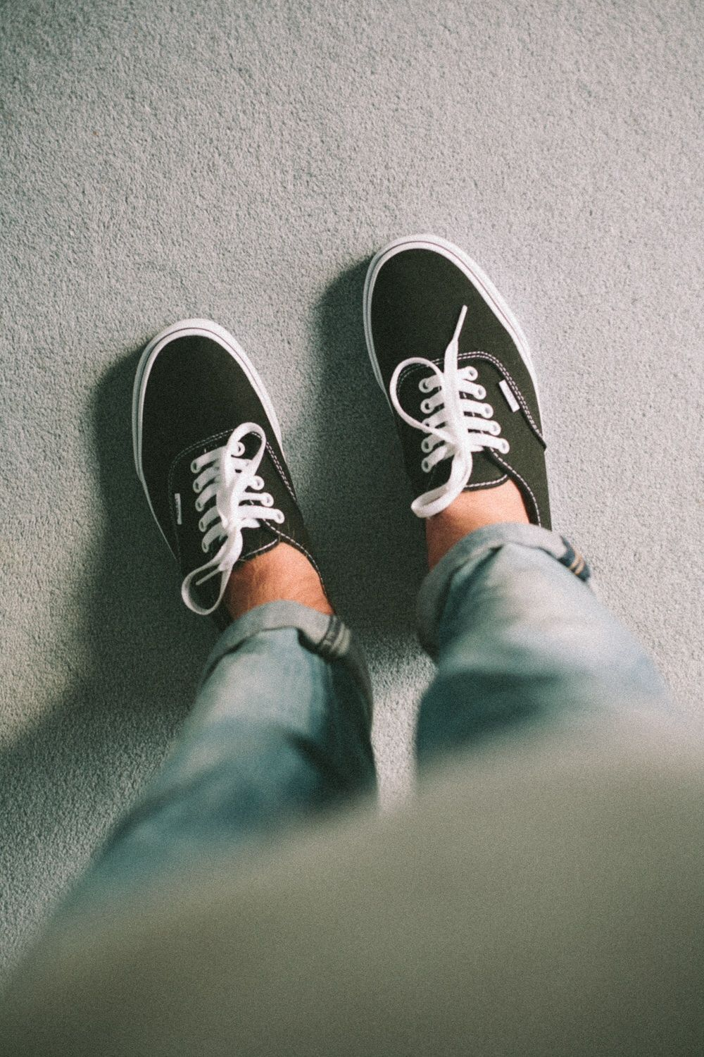 Jeans and vans