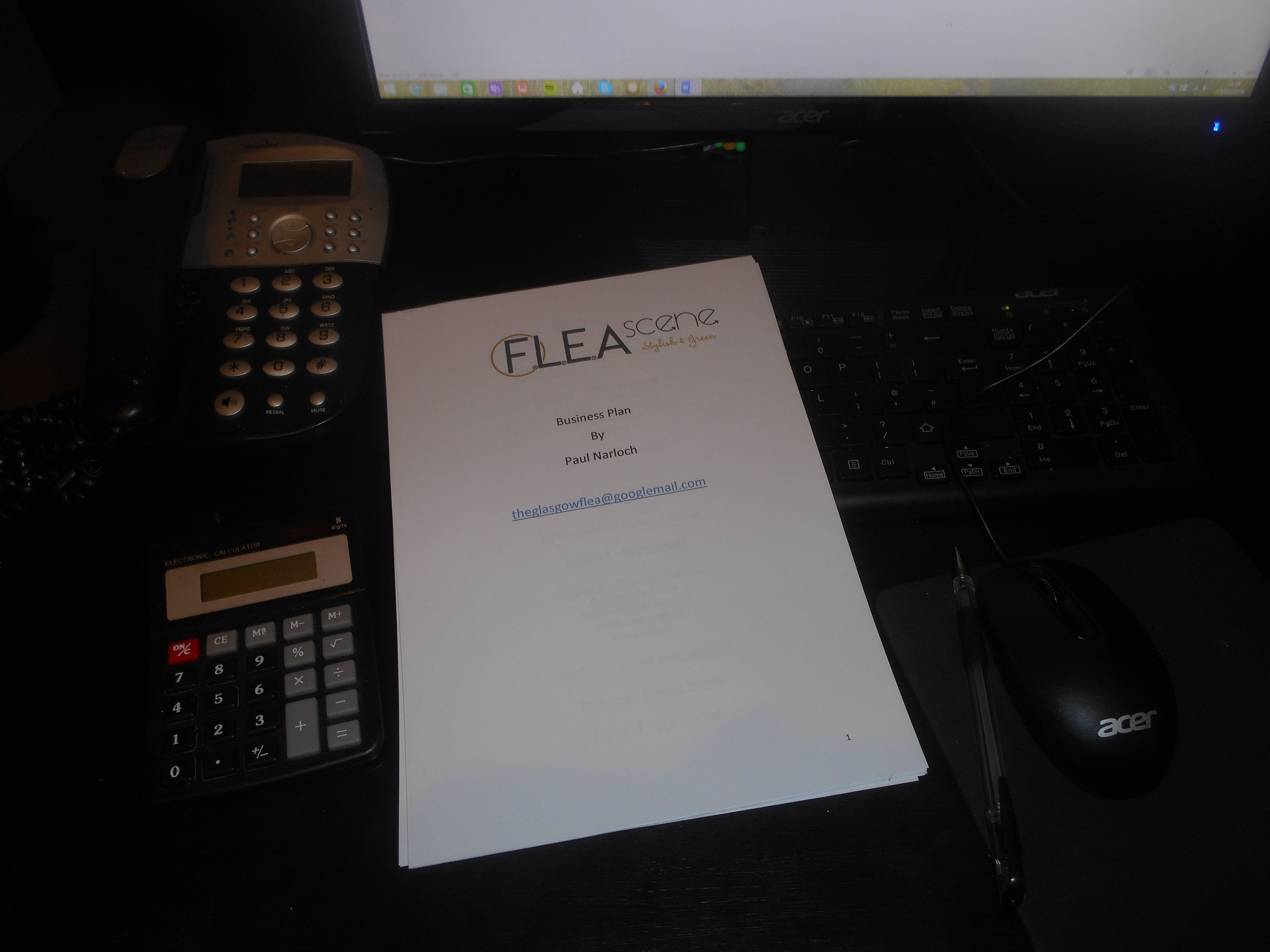 Completed Business Plan