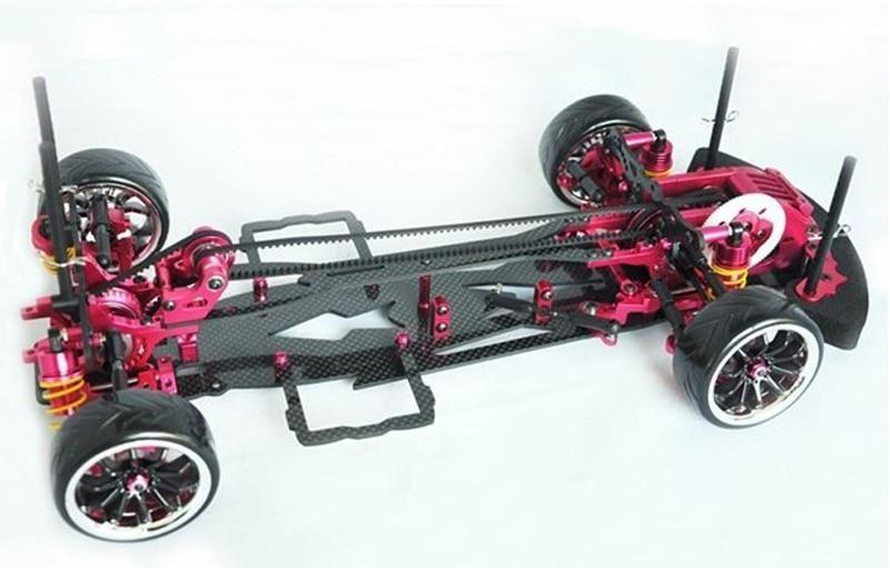 Alloy /& Carbon SAKURA D3 CS 3R OP RC 1//10 4WD Drift Racing Car Frame Kit 1:10