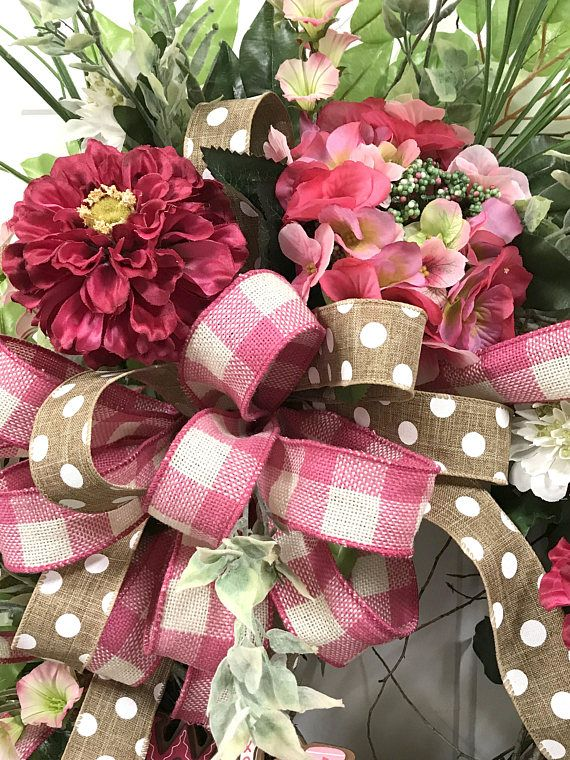 This Valentine Wreath As Well As Spring Summer Wreath Will Be