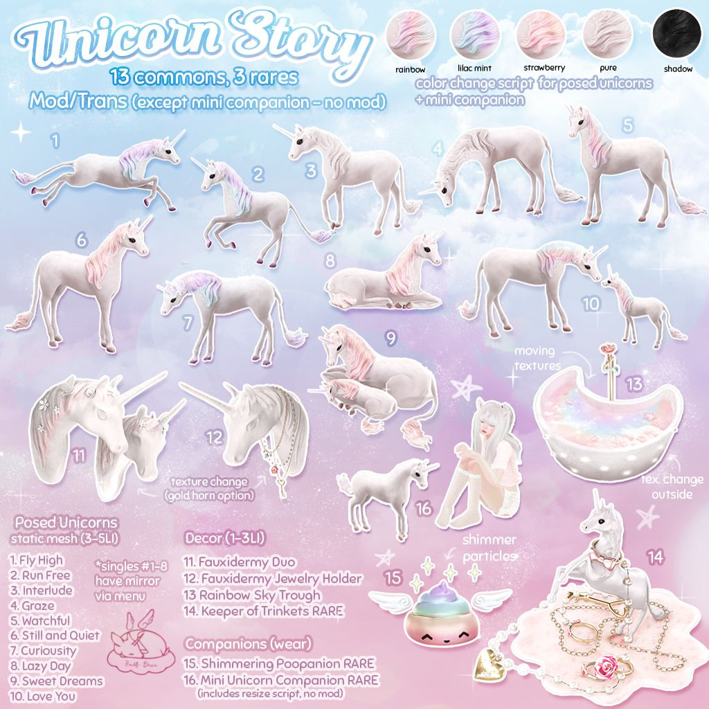 Half Deer Unicorn Story Key The Arcade Sims 4 Sims Sims 4 Game