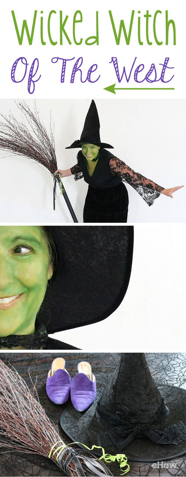 How to Create an Easy No-Sew Witch Costume | Witch costumes ...