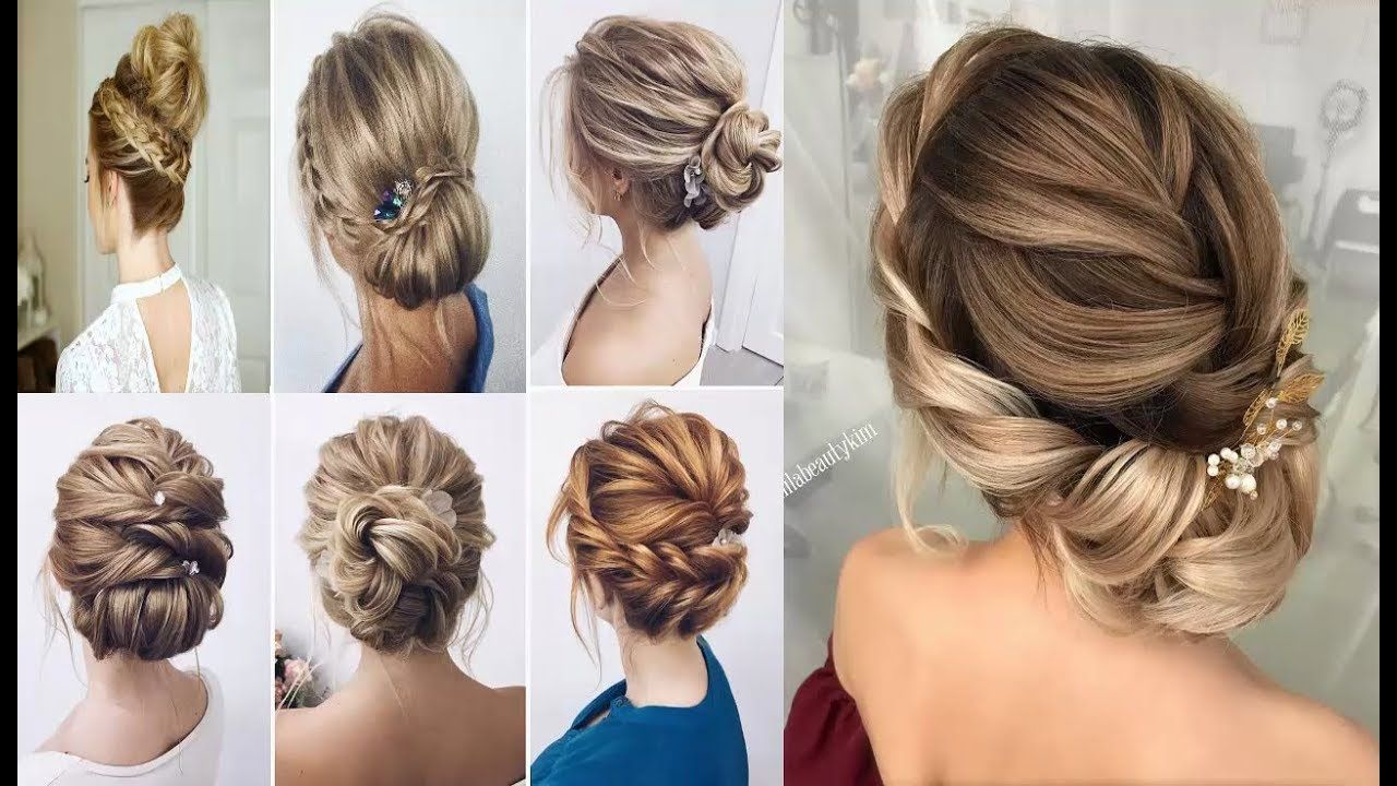 42 Updos For Medium Length Hair To Inspire Your Prom Look Braided Hairstyles Updo Long Hair Updo Medium Hair Styles