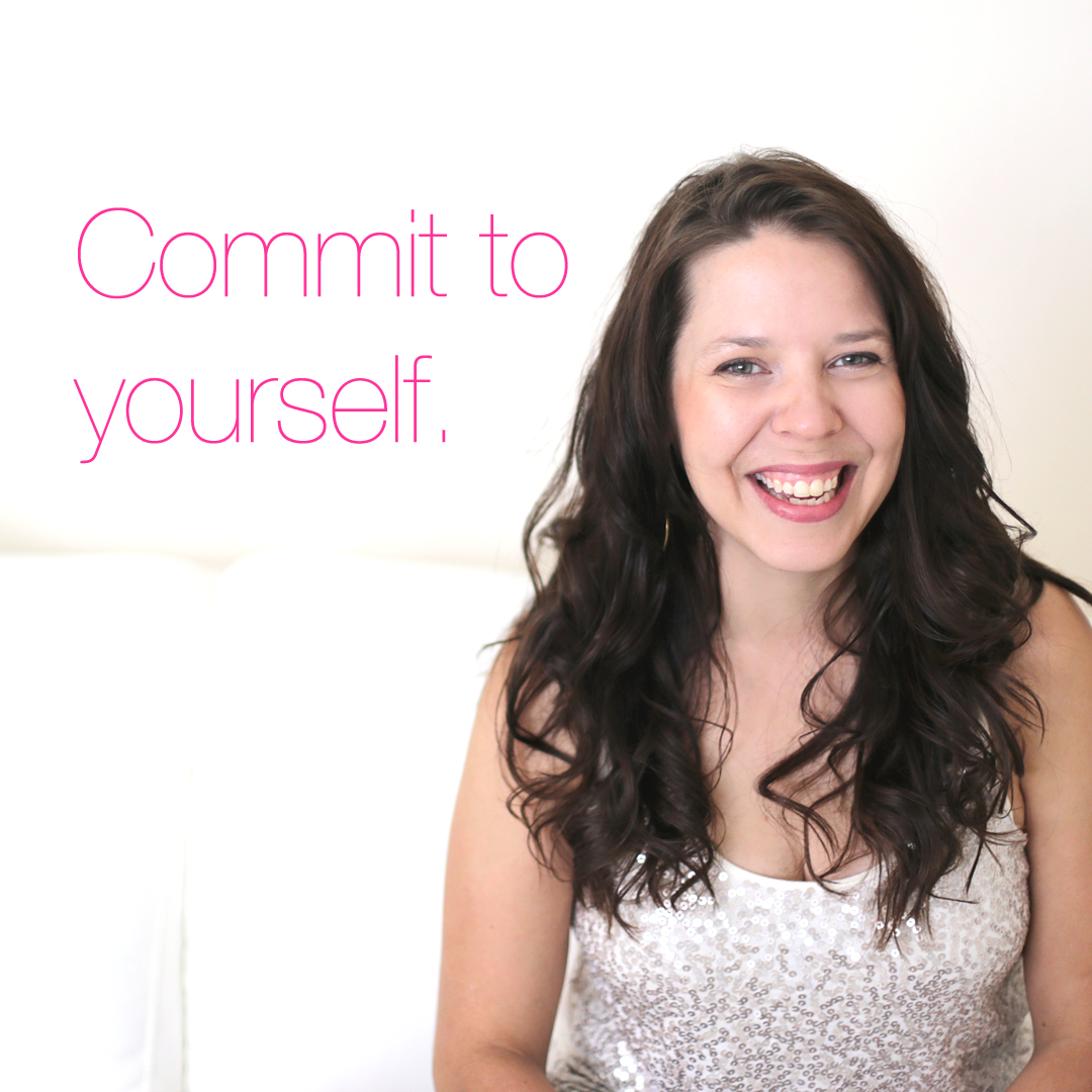 I'm committed to myself (and I'm making monogamy look hot, again). Watch this video to learn why we bail on our commitments to ourselves, and how to really commit to yourself and the things that are important to you, for good. http://www.yourcourageouslife.com/commit-to-yourself/