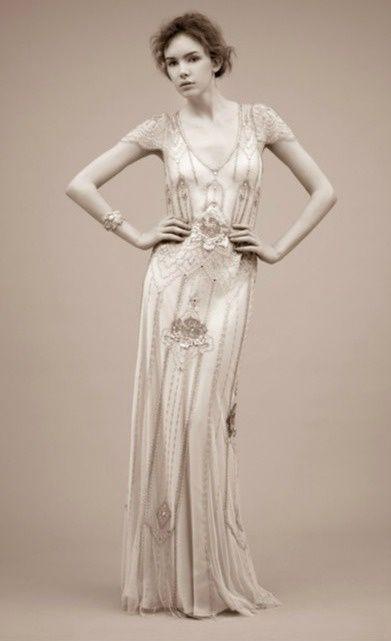 Art Nouveau Wedding Dress The Design Is So Art Nouveau Bohemian 1920s Inspired Dresses Flapper Wedding Dresses Jenny Packham Wedding Dresses