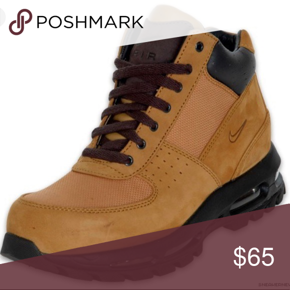 lowest price 1c60f 3b798 Nike Air Max Goadome Boot Nike Air Max Goadome Boot Size 11 Color   Tan Brown Gently used. Signs of wear at front of foot   shoe strings.