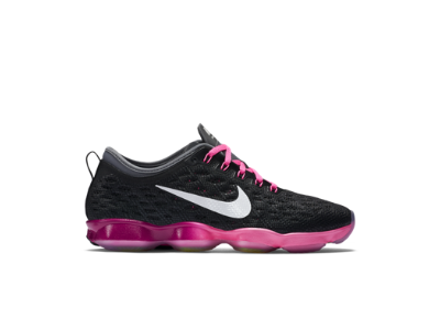 Nike Zoom Fit Agility Women's Training Shoe, black/pink pow/cool grey/