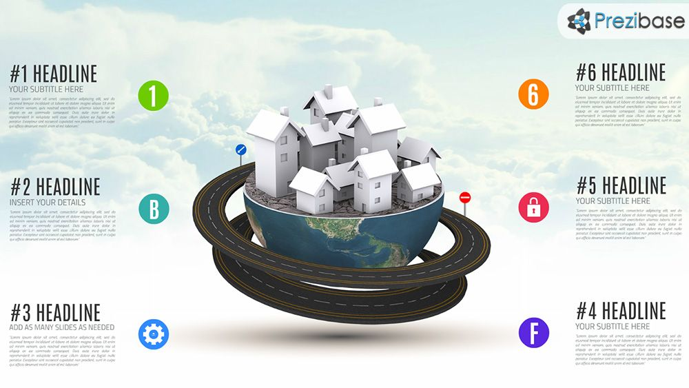 3d globe planet small city world with houses prezi presentation 3d globe planet small city world with houses prezi presentation template pronofoot35fo Gallery