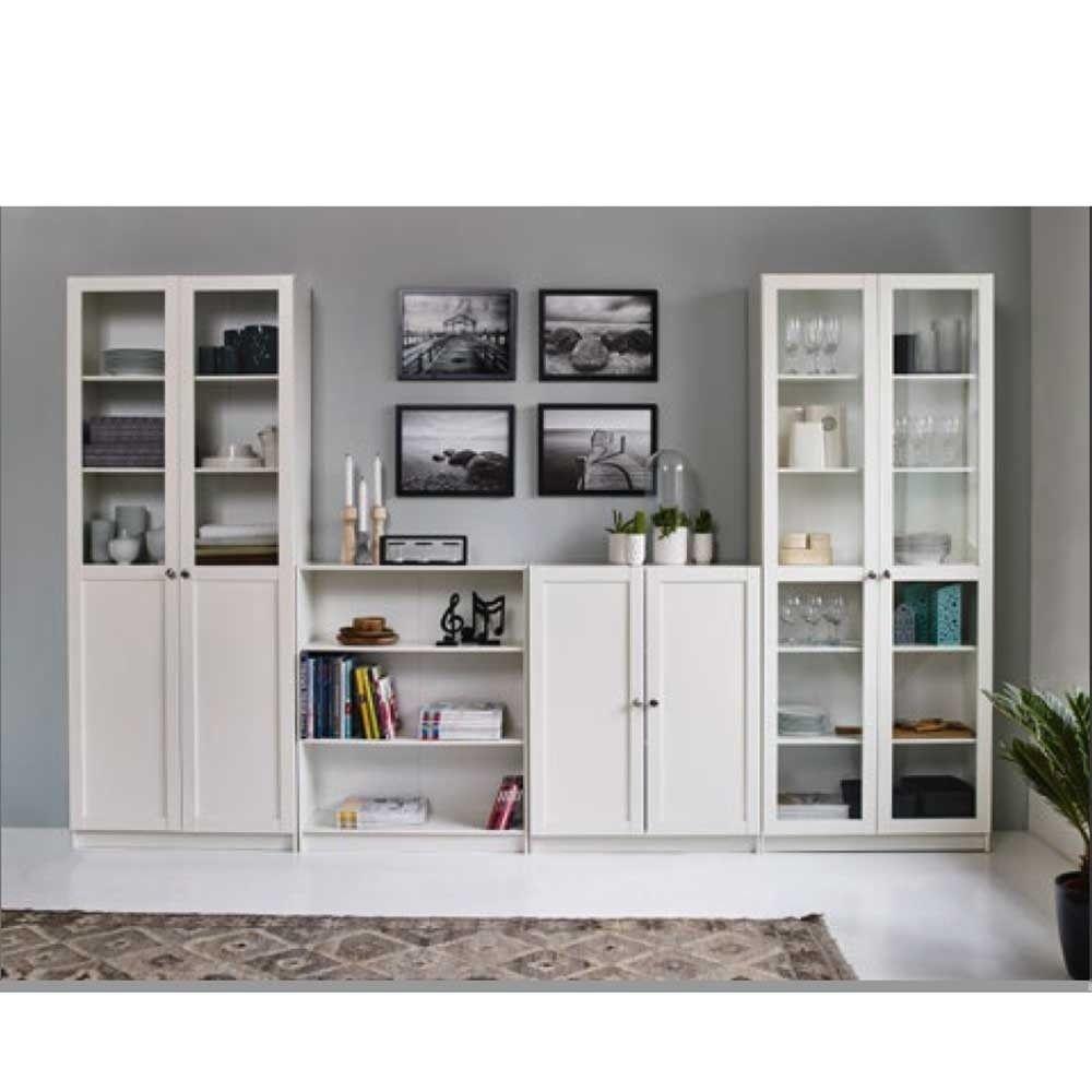 IKEA BILLY OXBERG 'deep' (39cm) BookcaseDisplay Cabinet